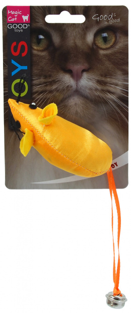 Magic cat hračka myš neonová 8,75 cm