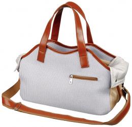Taska Amber 20×27×42cm modro-biela