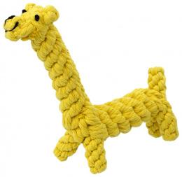 DOG FANTASY hračka pre psy žirafa 16 cm