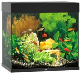 Akvarium set Lido LED 120 cierne 61*41*58cm,120l