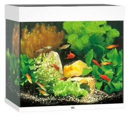 Akvarium set Lido LED 120 biele 61*41*58cm,120l