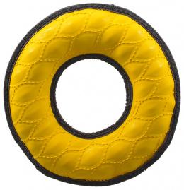 Hracka DF Rubber kruh zlta 22cm