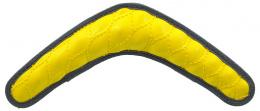 Hracka DF Rubber bumerang zlta 30cm