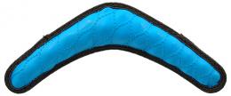 Hracka DF Rubber bumerang modra 30cm