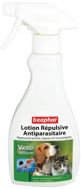Lotion Beaphar BIO proti blcham, kliestom a komarom pre psy a macky 250ml