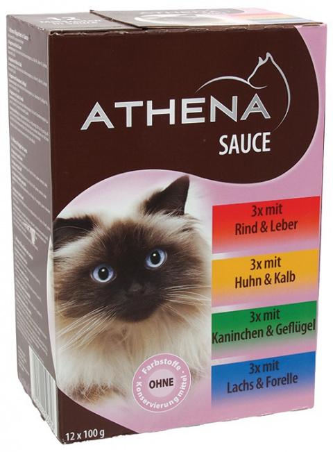 Kapsička Athena Gravy Multipack 12x100g title=