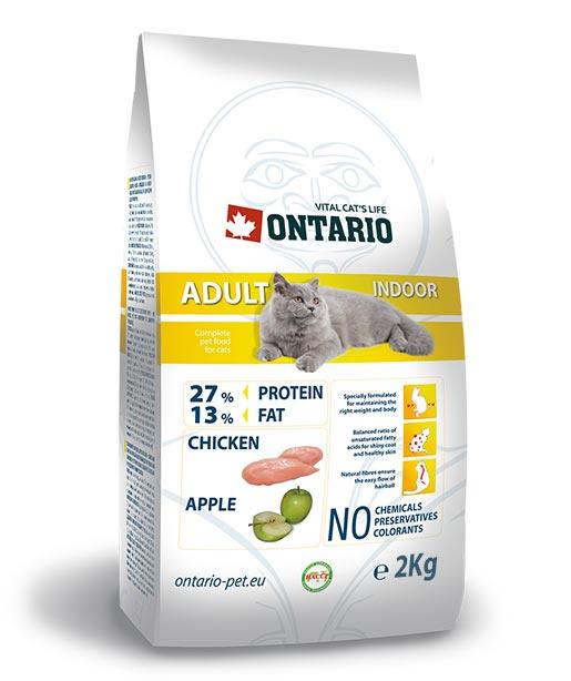 ONTARIO Adult Indoor 2 kg