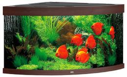 Akvarium set Trigon LED 350 tm.hnede 123*87*65cm,350l