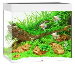 Akvarium set Lido LED 200 biela 70*51*65cm,200l