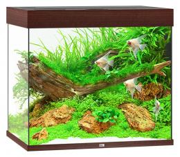 Akvarium set Lido LED 200 tm.hnede 70*51*65cm,200l