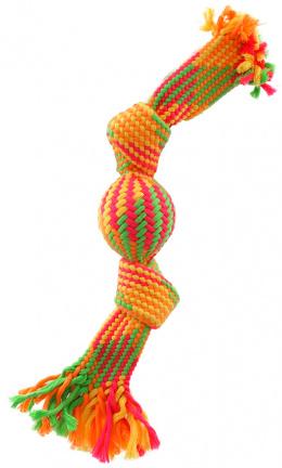 Pretahovadlo DF farebne, lopticka, 33cm, 2 knoty