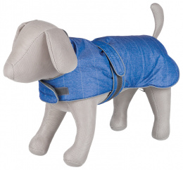 Belfort winter coat, L: 55 cm, blue