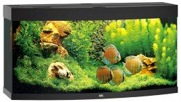 Akvarium set Vision LED 260 cierne 121*46*64cm,260l