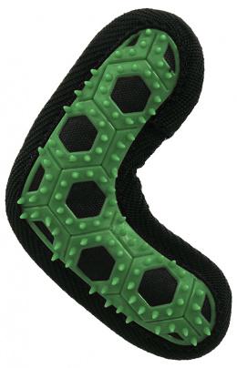 DF hračka Hextex bumerang 13,5 cm zelená