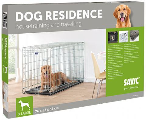 Klietka SAVIC Dog Residence 107 x 71 x 81 cm