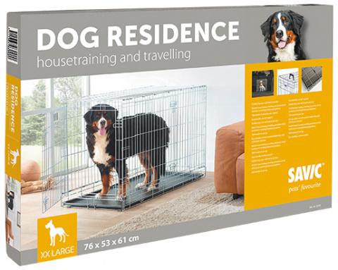 Klietka SAVIC Dog Residence 118 x 76 x 88 cm