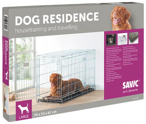 Klietka SAVIC Dog Residence 91 x 61 x 71 cm