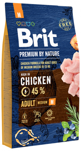 Brit Premium by Nature Adult M 8 kg