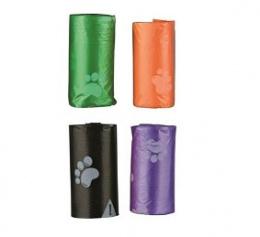 4 Rolls plastic bags