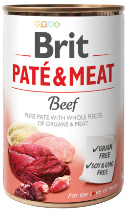 Brit Pate a Meat hovadzie 400g