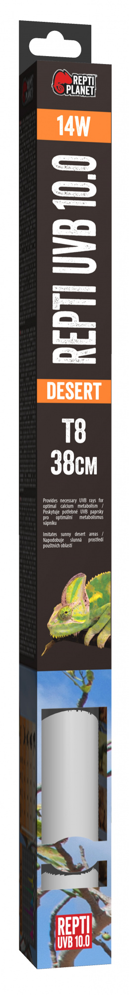 RP ziarivka Fluorescent UVB 10.0 38cm 14W