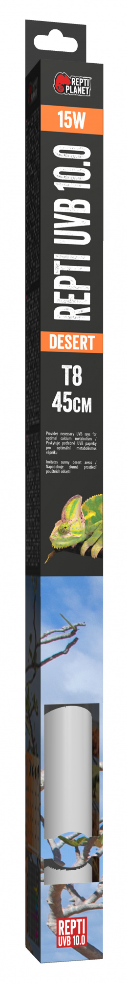 RP ziarivka Fluorescent UVB 10.0 45cm 15W