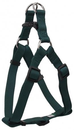 Postroj DF Classic M zeleny 2x53-77cm