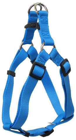 Dog Fantasy Postroj Classic L modrý 2,5x65-99cm