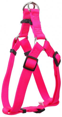 Dog Fantasy Postroj Classic L rúžový 2,5x65-99cm