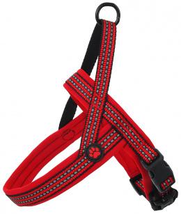 Postroj AD Neoprene XL cerveny 3,2x88-110cm