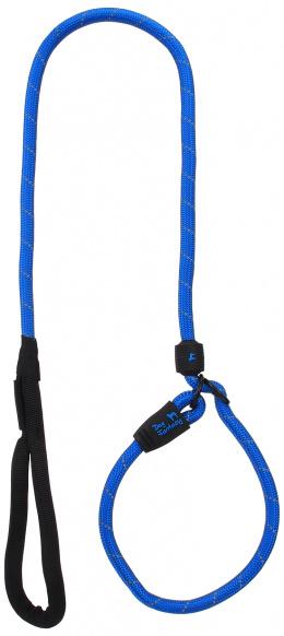 Voditko DF s obojkem L modre 1,3x120cm