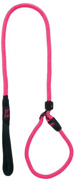 DF Voditko s obojkom L ružové 1,3x120cm
