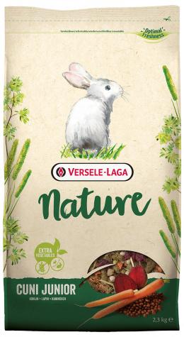 Krmivo Nature Cuni Junior pre kraliky 2,3kg