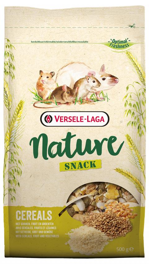 Krmivo Nature Snack Cereals 500g