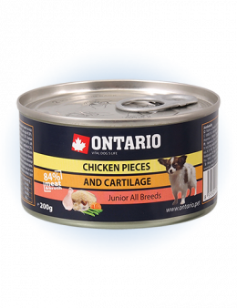 ONTARIO Junior Chicken Pieces Cartilage 200g