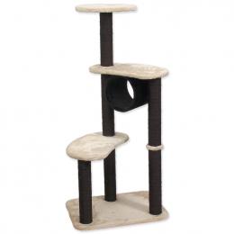 Odpočívadlo Magic cat Sabina 55x40x125 cm béžovo-čierne