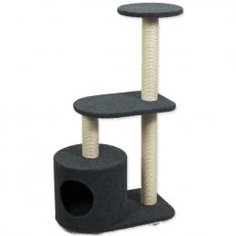 Odpočívadlo Magic cat Renata 53x34x95c m koberec sivé