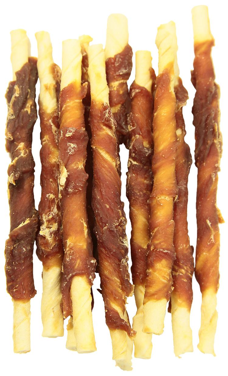 RASCO Premium pochúťka byvolie tyčinky obalené kačacím mäsom 80 g