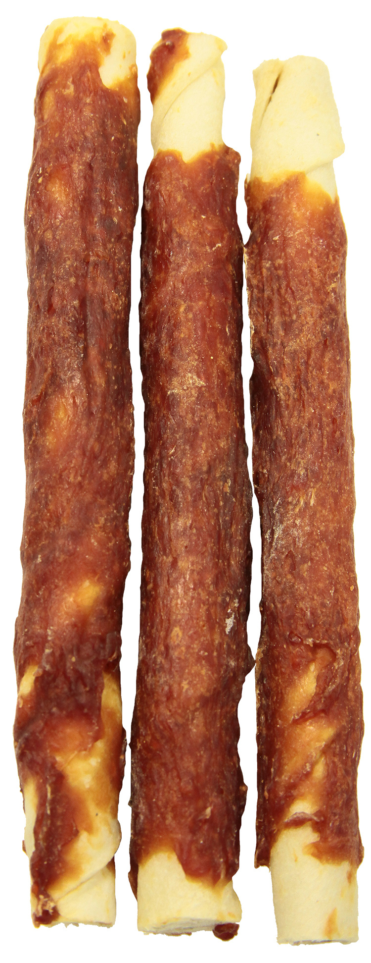 RASCO Premium pochúťka 15cm byvolí uzol obalený kačacím mäsom 140 g