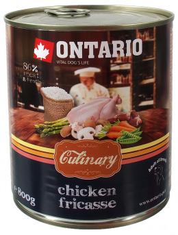 Ontario Dog konzerva Culinary 800 g kura
