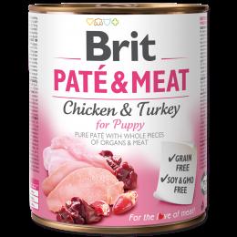 Brit Pate & Meat Puppy 800g