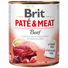 Brit Pate & Meat Beef 800g