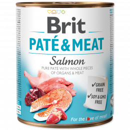 Brit Pate & Meat Salmon 800g