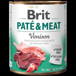 Brit Pate & Meat Venison 800g