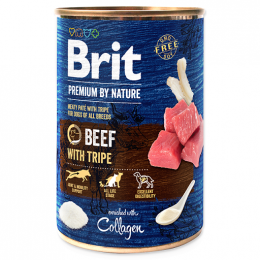 Brit Premium by Nature konzerva Beef with Tripes 400 g