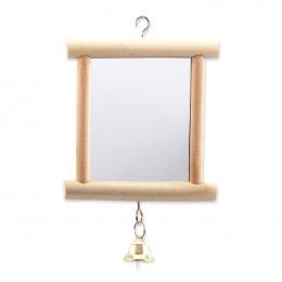 Bird Jewel hračka zrkadlo s rolničkou 13 cm