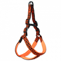 Active dog mystic postroj S 1,5x38-50 cm oranžový