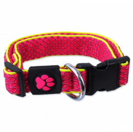 Active dog mellow obojok S 2,5x28-40 cm ružový