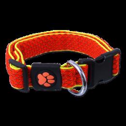 Active dog mellow obojok M 2,5x35-51 cm oranžový