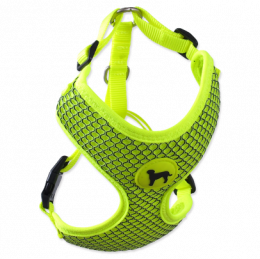 Active dog mellow postroj M 1,5x40-55cm limetka
